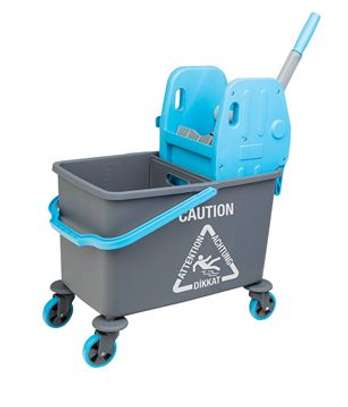 Cleaning Stroller with Mop Bucket image 4