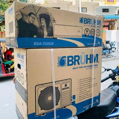 BRAND NEW BRUHM AIR CONDITIONER(Split type) WITH INSTALLATION...850,000/= image 1