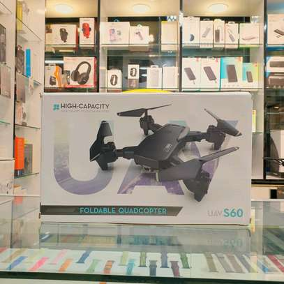 S60 UAV 4K HD Foldable Quadcopter Drone With 1080p Full HD Dual Camera