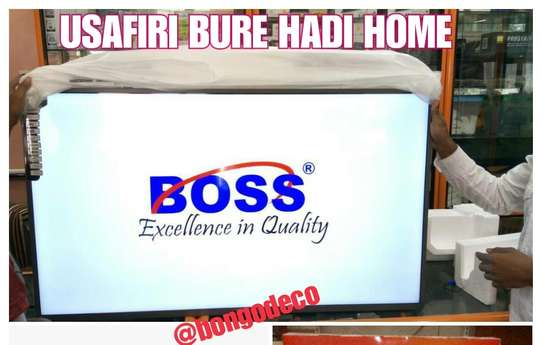 Boss 43 inch Smart UHD Tv image 1