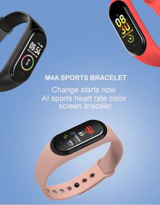 Rovtop M4 Smart band 4 Fitness Tracker Watch image 3