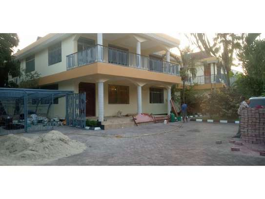 6 bed room big house for rent at mikocheni mwinyi image 1