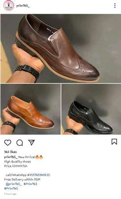 Quality mens shoes available image 1