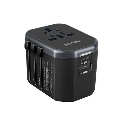 Porodo Universal Travel Charger with Dual Port image 1