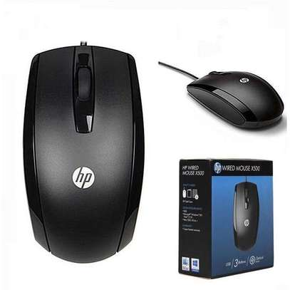 Hp x500 usb mouse image 1