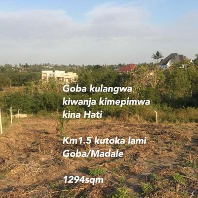 Plot for sale at Goba kulangwa image 1