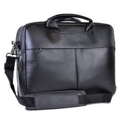 Dell 0W0FCT Deluxe Leather Top Load Laptop Case