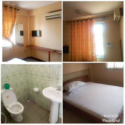 1 bdrms, self-furnished to let at Sinza.