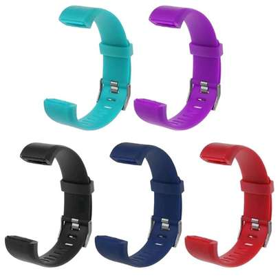 Replacement Silicone Sport Band Strap For  115 Plus Smart Watch Strap