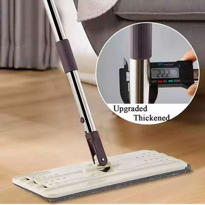Automatic Squeeze  Scratch Floor Mop with 2PCS rag Cloth for Room,window,ceiling, wall etc. image 10