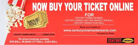 Buy Online Century Cinema Ticket image 1