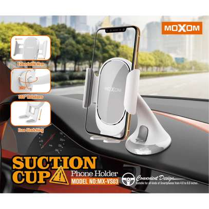 Moxom Suction Cup Phone Holder Car Mount image 2