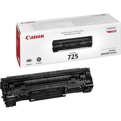 Original Canon 725 Black Toner Cartridge image 1