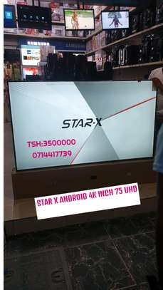 STAR-X UHD 4K INCH 75 WITH SOUND BAR image 1