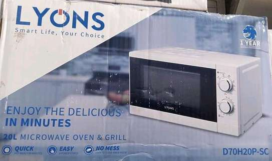 20L Microwave Oven & Grill image 1