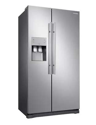 Samsung Side by side 501 L Side-by-side Refrigerator Stainless Steel RS50N3C13S8