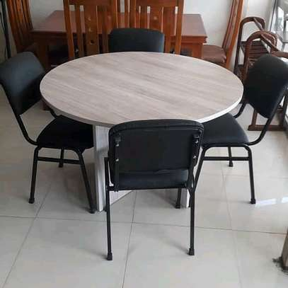 4 CHAIR ROUND TABLE DINNING SET...485,000/= image 1