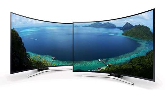 SAMSUNG 49 SMART CURVED TV