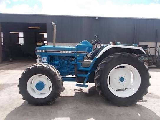 1992 Ford 6610 4WD FARM TRACTOR image 3