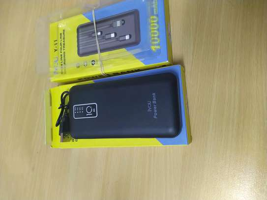 Fast charge power bank 10,000mah inayojaza simu full charge free delivery in Dar image 4