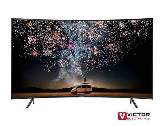 SAMSUNG 49 INCH CURVED TV image 1