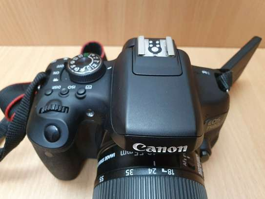Canon EOS 750D, Digital SLR Camera with 18-55mm image 4