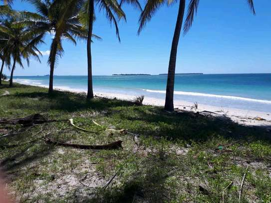 1  Acres Beach Plot for sale in kigamboni image 1