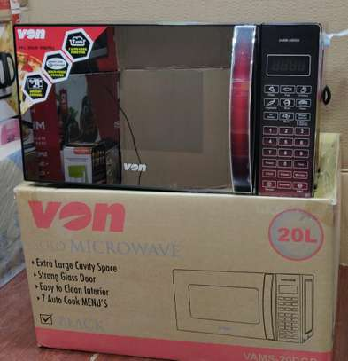 VON MICROWAVE OVEN 20L GRILL VAMS 20 DGB image 1