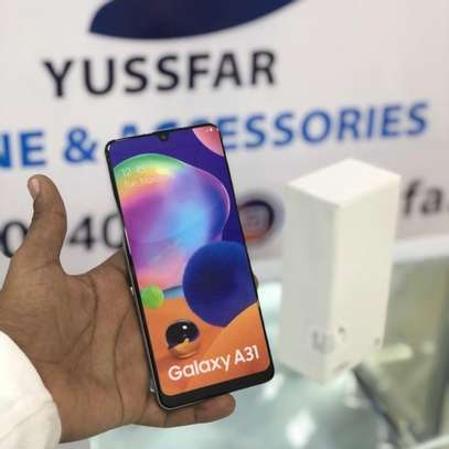 SAMSUNG Galaxy A31 GB 128 PATA offer➖( Cover & Delivery BureE ) image 4