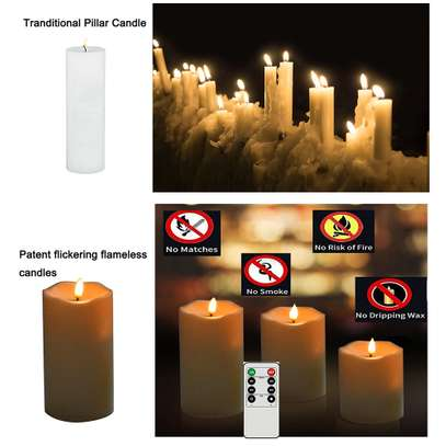 Flameless Candle (Electric candles)
