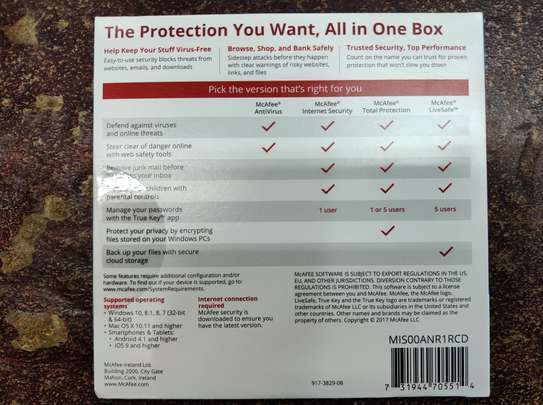 McAfee - Antivirus 1user image 2