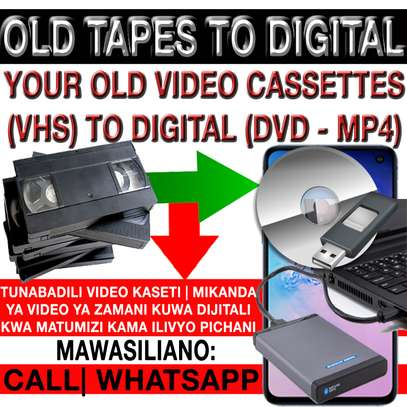 OLD VHS TAPES TO DIGITAL FORMAT FOR MODERN DEVICES|GADGETS USE & PLAYBACK