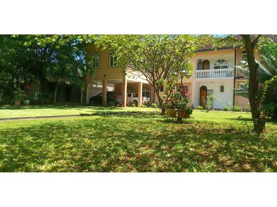 big house 5bed furnished at mikocheni a $1500pm big garden image 5