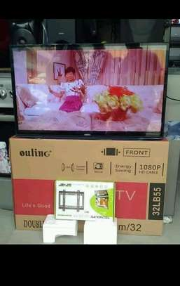 Ouling tv  inch 32 double glass
