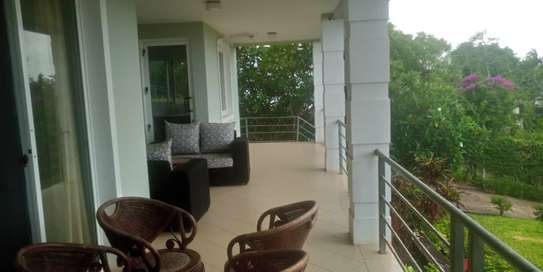 3 bed room house in the compound for rent at kigamboni south beach image 1