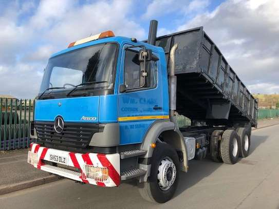 2003 Mercedes-Benz ATEGO 2528 6X4 TIPPER TSHS 78MILLION ON THE ROAD