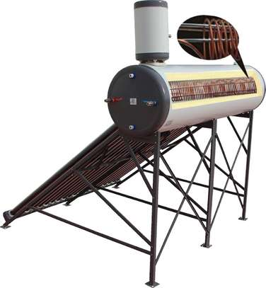 Evacuated Glass Tube Pressurized Solar Heating System