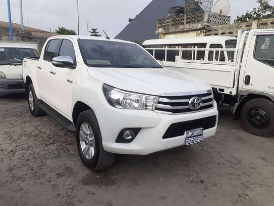 2017 Toyota Hilux Double Cabin Mpya Chasses Number image 2