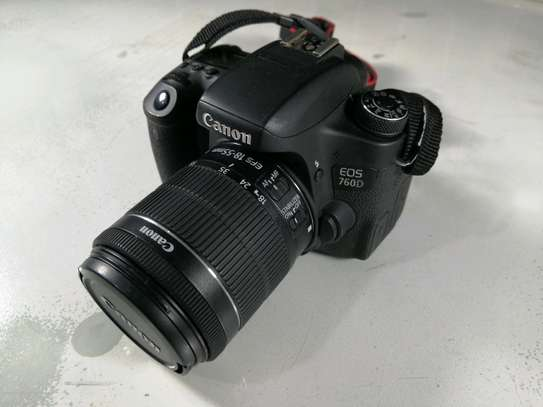 Canon EOS 760D Digital SLR Camera Kit with EF-S 18-55mm image 3