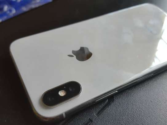 iPhone X, 256gb, Silver Face ID Failed
