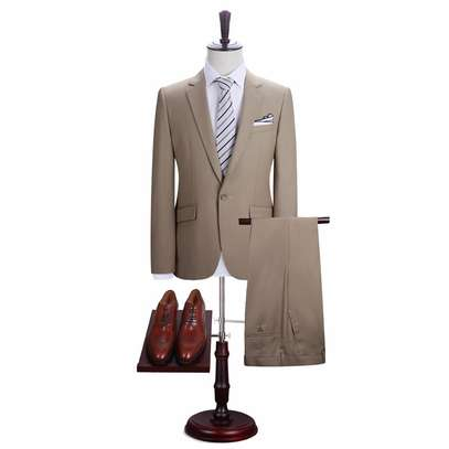Khaki Men's Suit