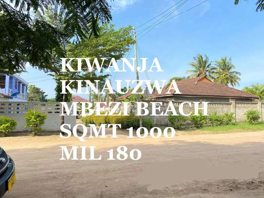 1000Sqmt for 180Milions at Mbezi Beach image 1
