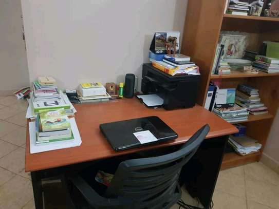 Cupboard and office table image 2