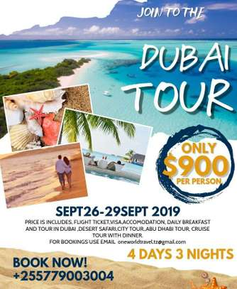 4 Days AND 3 Nights To DubaiI Safari Tour Experience.