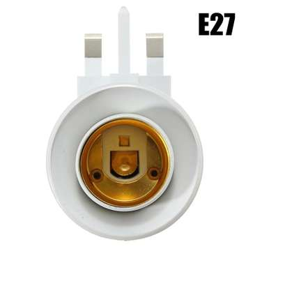 UK Plug E27 or B22 Lamp Socket Holder Adapter Converter 110-240V With ONOFF Switch image 9