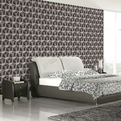 Wallpaper- 3D Geometric Design
