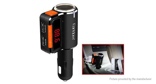 Bluetooth car kit FM Transmitter BT Handsfree Duan usb Car charger MP3 Audio Player