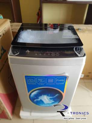8Kg Delta Washing machine, Automatic, Top load image 1