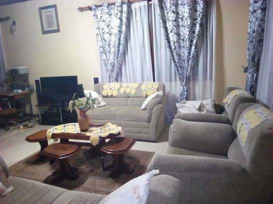 3bed furnished all ensuet house in the compound at new mikocheni $500pm image 3