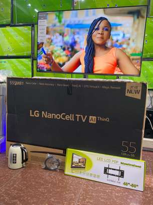 LG 55'' SM81 Series NanoCell HDR Smart UHD TV with AI ThinQ image 1